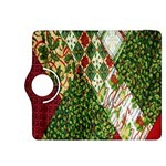 Christmas Quilt Background Kindle Fire HDX 8.9  Flip 360 Case Front