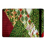 Christmas Quilt Background Samsung Galaxy Tab Pro 10.1  Flip Case Front