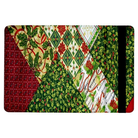Christmas Quilt Background iPad Air Flip