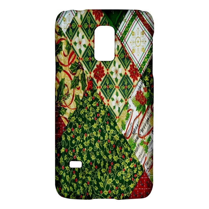 Christmas Quilt Background Galaxy S5 Mini