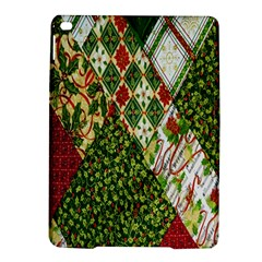Christmas Quilt Background iPad Air 2 Hardshell Cases