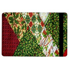Christmas Quilt Background iPad Air 2 Flip