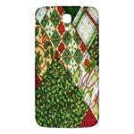 Christmas Quilt Background Samsung Galaxy Mega I9200 Hardshell Back Case Front