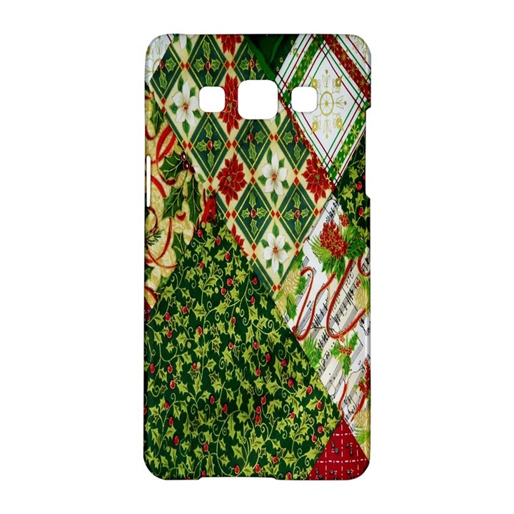 Christmas Quilt Background Samsung Galaxy A5 Hardshell Case
