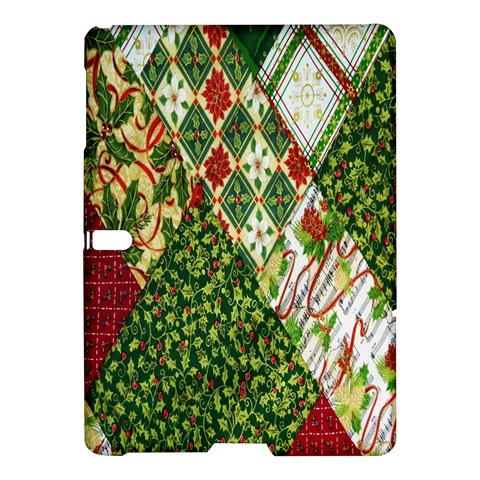 Christmas Quilt Background Samsung Galaxy Tab S (10.5 ) Hardshell Case