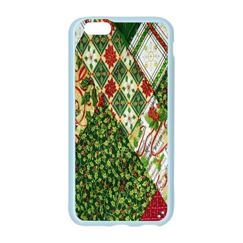 Christmas Quilt Background Apple Seamless iPhone 6/6S Case (Color)