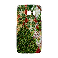 Christmas Quilt Background Galaxy S6 Edge