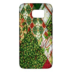Christmas Quilt Background Galaxy S6