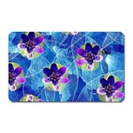 Purple Flowers Magnet (Rectangular) Front
