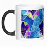 Purple Flowers Morph Mugs Left