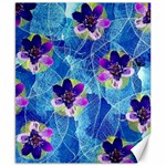 Purple Flowers Canvas 8  x 10  10.02 x8 Canvas - 1