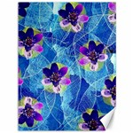 Purple Flowers Canvas 36  x 48   48 x36 Canvas - 1