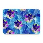Purple Flowers Plate Mats 18 x12 Plate Mat - 1