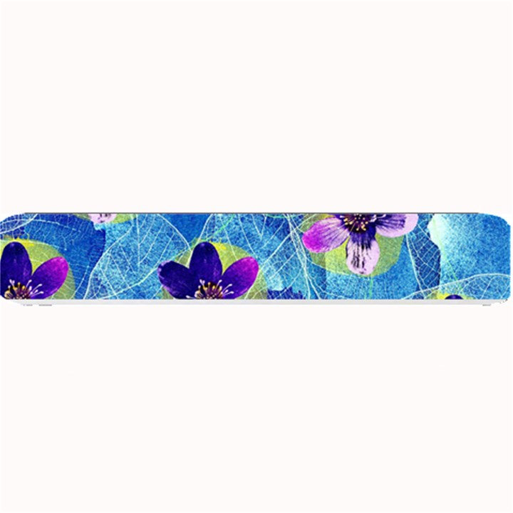 Purple Flowers Small Bar Mats