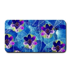 Purple Flowers Medium Bar Mats