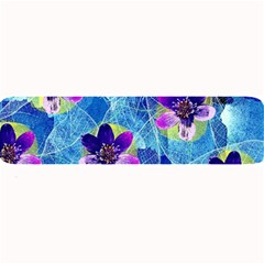 Purple Flowers Large Bar Mats