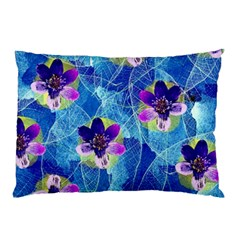 Purple Flowers Pillow Case