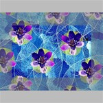 Purple Flowers Mini Canvas 6  x 4  6  x 4  x 0.875  Stretched Canvas