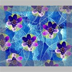 Purple Flowers Canvas 10  x 8  10  x 8  x 0.875  Stretched Canvas
