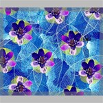 Purple Flowers Canvas 24  x 20  24  x 20  x 0.875  Stretched Canvas