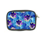 Purple Flowers Coin Purse Back