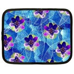 Purple Flowers Netbook Case (XXL)  Front
