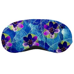 Purple Flowers Sleeping Masks