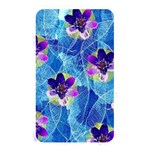 Purple Flowers Memory Card Reader Front