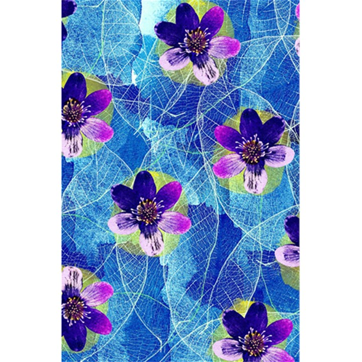 Purple Flowers 5.5  x 8.5  Notebooks