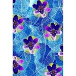 Purple Flowers 5.5  x 8.5  Notebooks Back Cover Inside