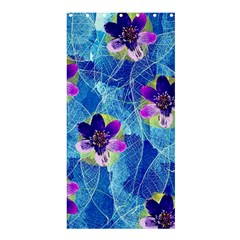 Purple Flowers Shower Curtain 36  X 72  (stall)