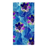 Purple Flowers Shower Curtain 36  x 72  (Stall)  33.26 x66.24 Curtain