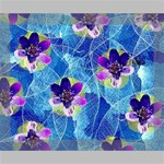 Purple Flowers Deluxe Canvas 20  x 16   20  x 16  x 1.5  Stretched Canvas
