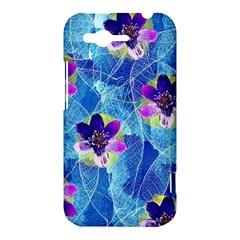 Purple Flowers HTC Rhyme