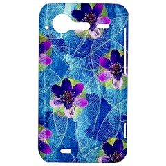 Purple Flowers HTC Incredible S Hardshell Case