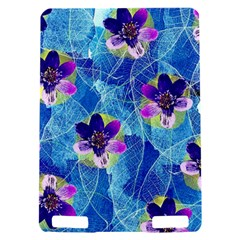 Purple Flowers Kindle Touch 3G