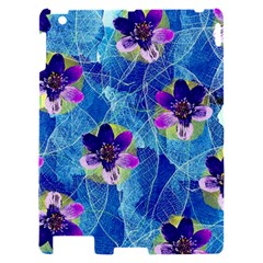 Purple Flowers Apple iPad 2 Hardshell Case