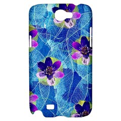 Purple Flowers Samsung Galaxy Note 2 Hardshell Case