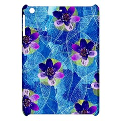 Purple Flowers Apple Ipad Mini Hardshell Case