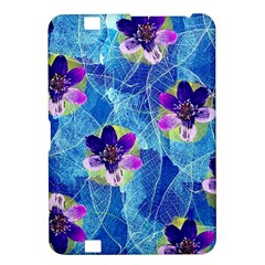 Purple Flowers Kindle Fire HD 8.9