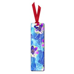 Purple Flowers Small Book Marks