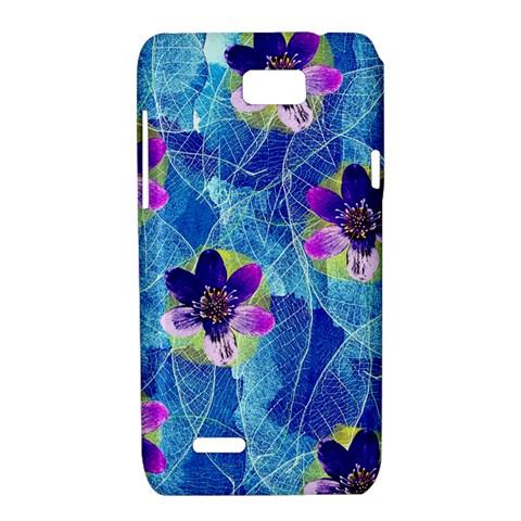 Purple Flowers Motorola XT788