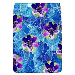 Purple Flowers Flap Covers (s)