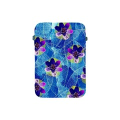 Purple Flowers Apple Ipad Mini Protective Soft Cases