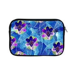 Purple Flowers Apple iPad Mini Zipper Cases