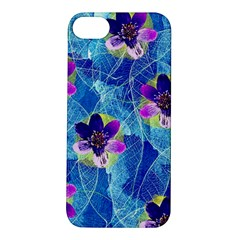 Purple Flowers Apple Iphone 5s/ Se Hardshell Case