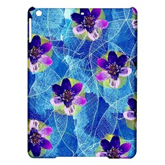 Purple Flowers iPad Air Hardshell Cases