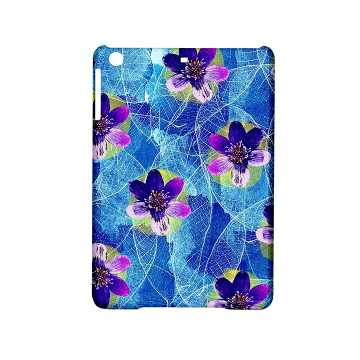 Purple Flowers iPad Mini 2 Hardshell Cases