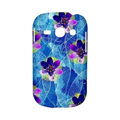 Purple Flowers Samsung Galaxy S6810 Hardshell Case
