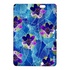 Purple Flowers Kindle Fire Hdx 8 9  Hardshell Case